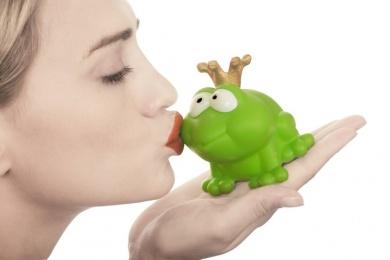 zu küssen oder nicht zu küssen
