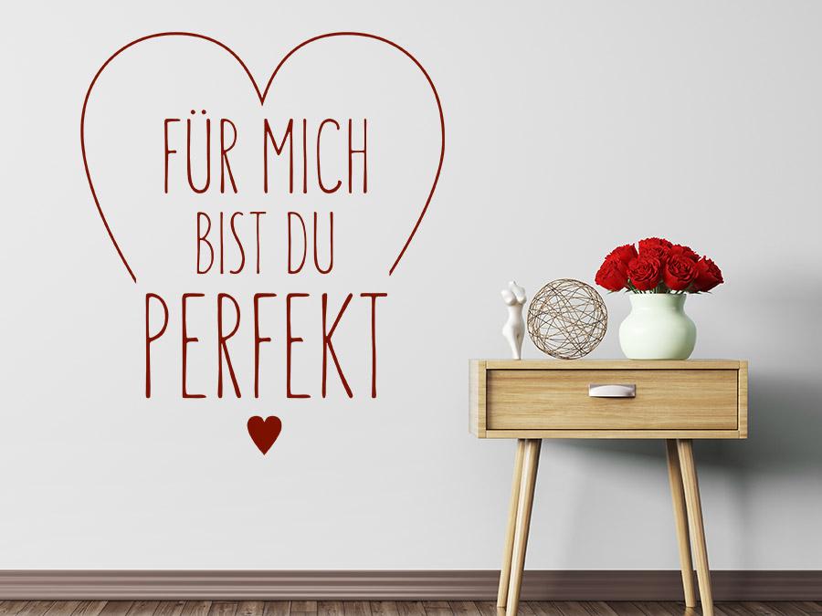 du bist perfekt