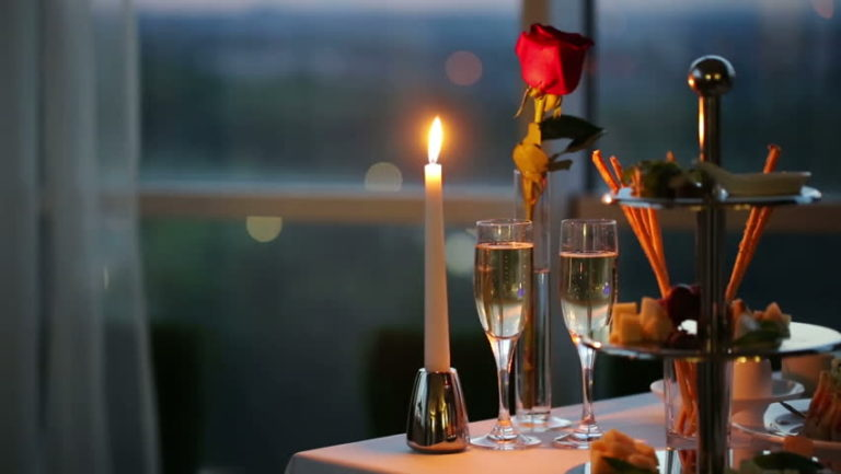 romantic idea for busy couples