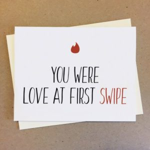 love from the first swipe
