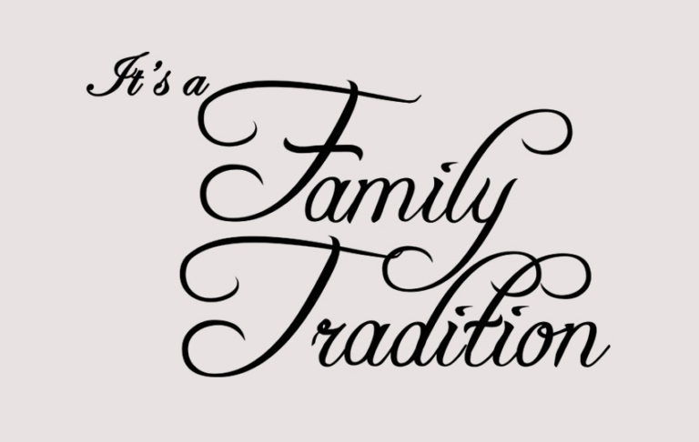 Family_Tradition