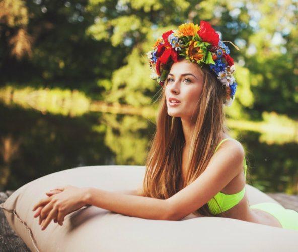 eine ukrainische Freundin